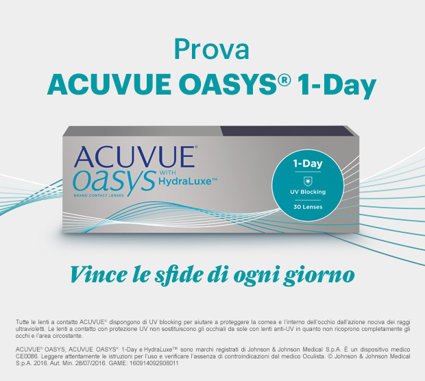 NEW 1-day ACUVUE